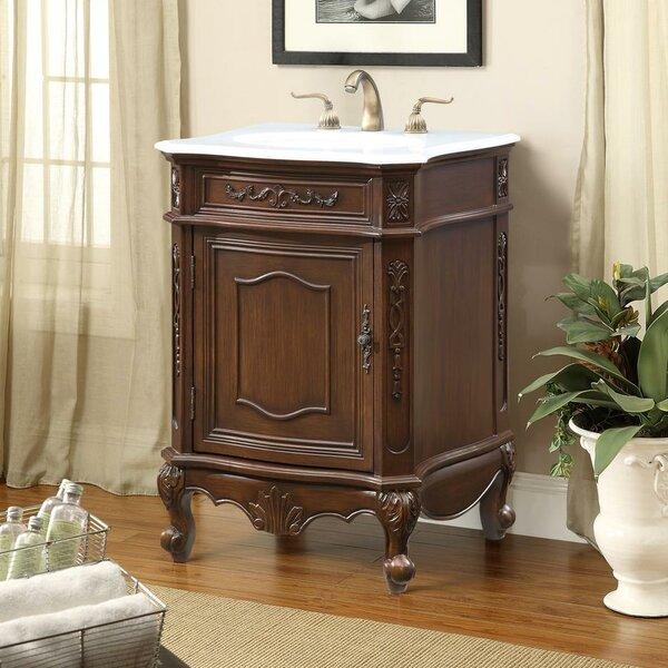 Schubert 24 Single Bathroom Vanity Set by Astoria Grand
