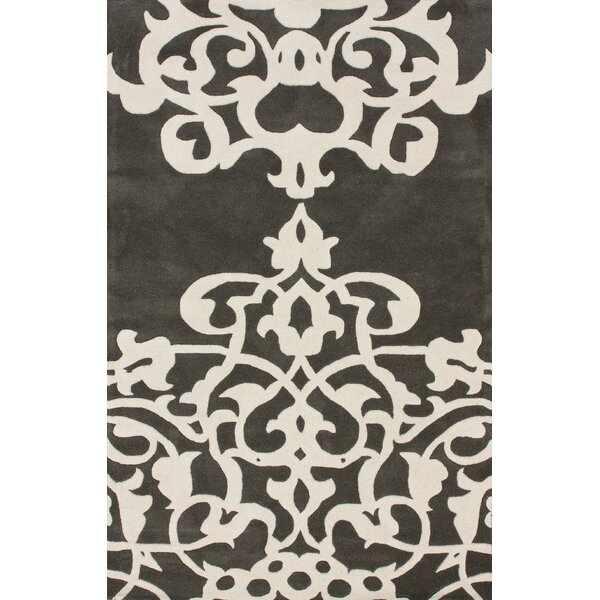 Bella Novara Pewter/White Area Rug by nuLOOM
