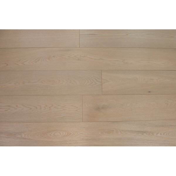 Bergen 7-1/2 Engineered Oak Hardwood Flooring in Ecru by Branton Flooring Collection