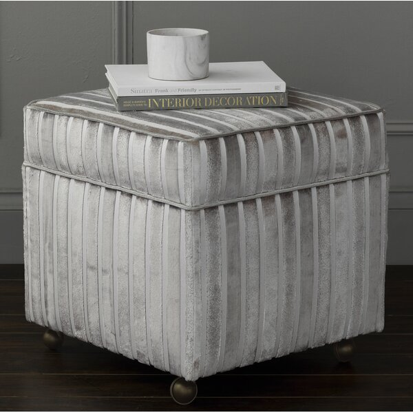 Vionnet Storage Ottoman by Eastern Accents