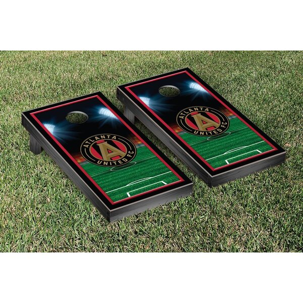 MLS Atlanta United FC Soccer Field Version 1 Cornhole Game Set by Victory Tailgate