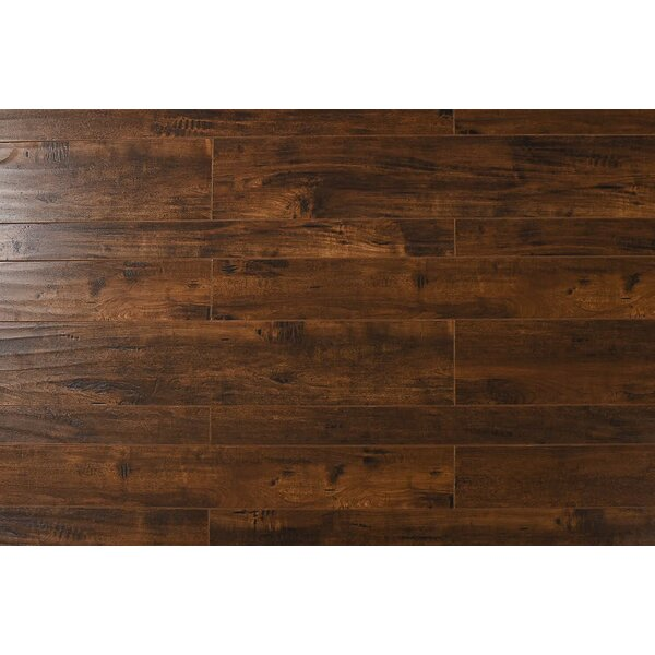 Arletta  13 x 48 x 12mm Oak Laminate Flooring in Indo Cherry by Serradon
