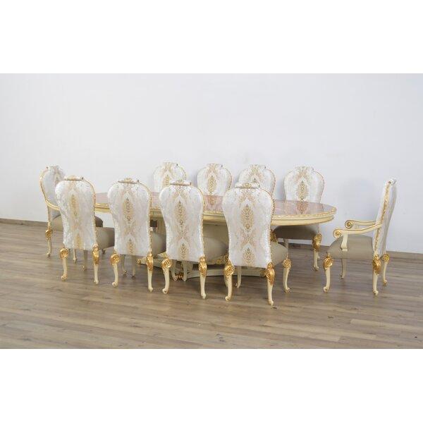 Cheyenne Luxury 9 Piece Dining Set by Astoria Grand