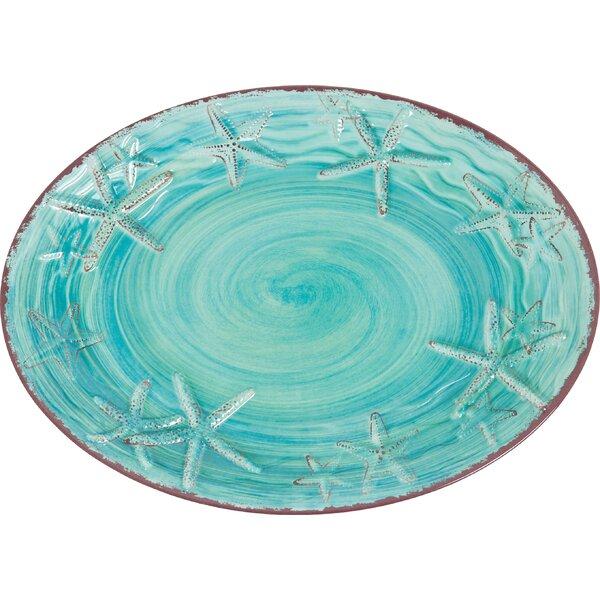 Winterton Melamine Oval Platter by Beachcrest Home