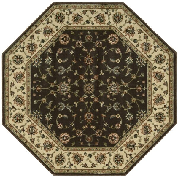 Bayhills Chocolate Area Rug by Astoria Grand