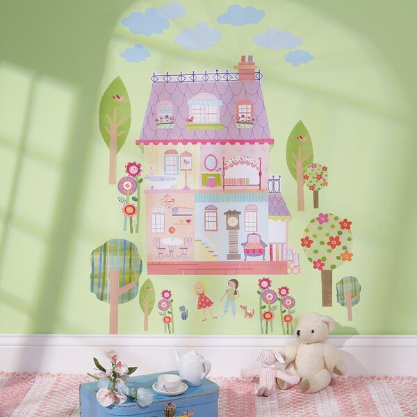 Play House Interactive Wall Decal by Wallies