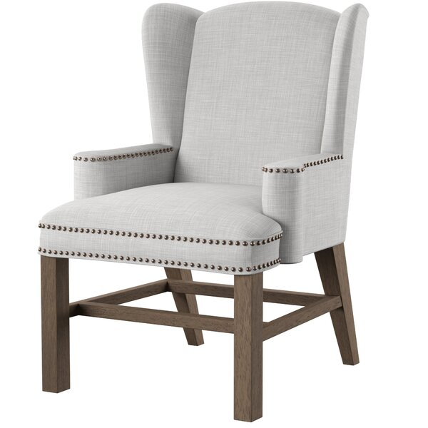 Neve Wingback Chair by One Allium Way