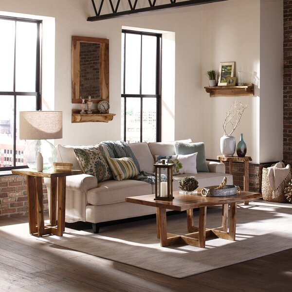 Beyers 3 Piece Coffee Table Set by Foundry Select Foundry Select