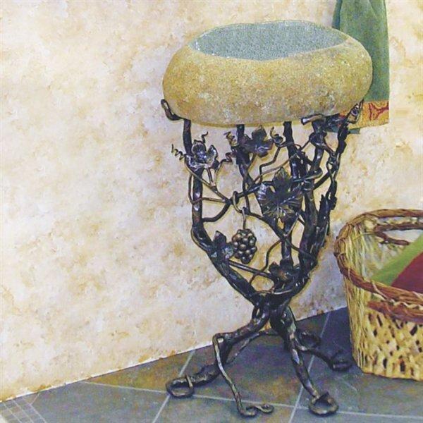 Vineyard Metal 22 Pedestal Bathroom Sink by Quiescence