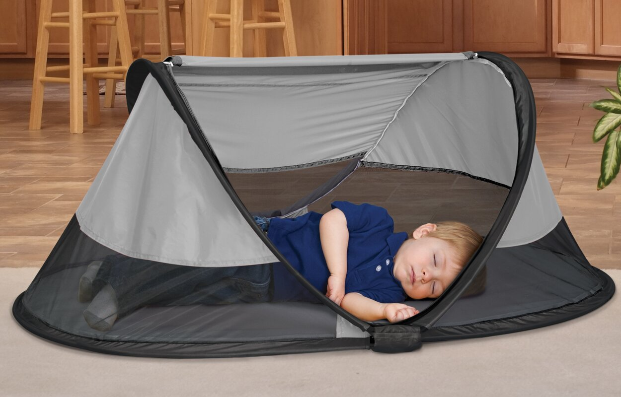 PeaPod Toddler Travel Bed Play Tent & KidCo PeaPod Toddler Travel Bed Play Tent u0026 Reviews | Wayfair