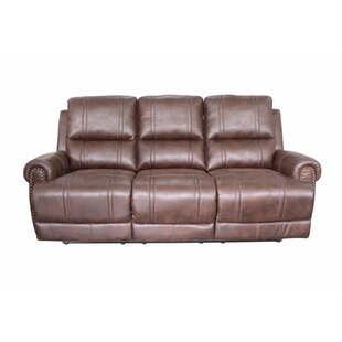 Rusnak Reclining Sofa Charlton Home