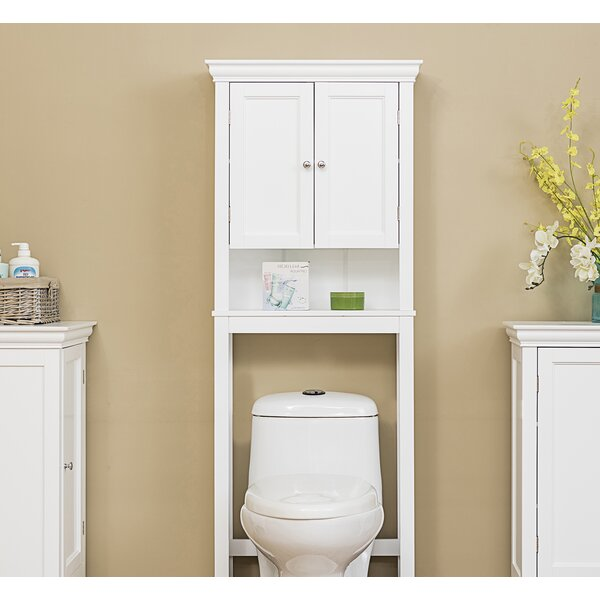 Ledet Space Saver 25 W x 64.25 H Over the Toilet Storage by Alcott Hill