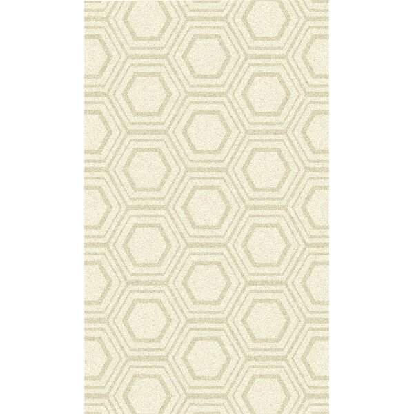 Burchfield Ivory Geometric Hand Woven Rug by George Oliver