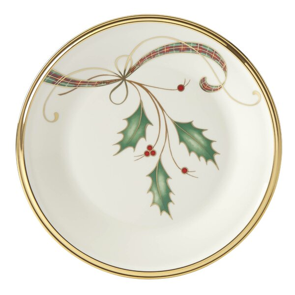 Holiday Nouveau 6.38 Bread and Butter Plate by Len