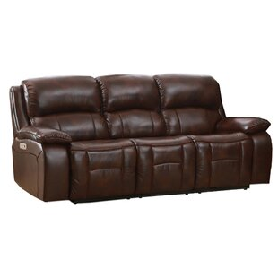 Westminster II Leather Reclining Sofa HYDELINE