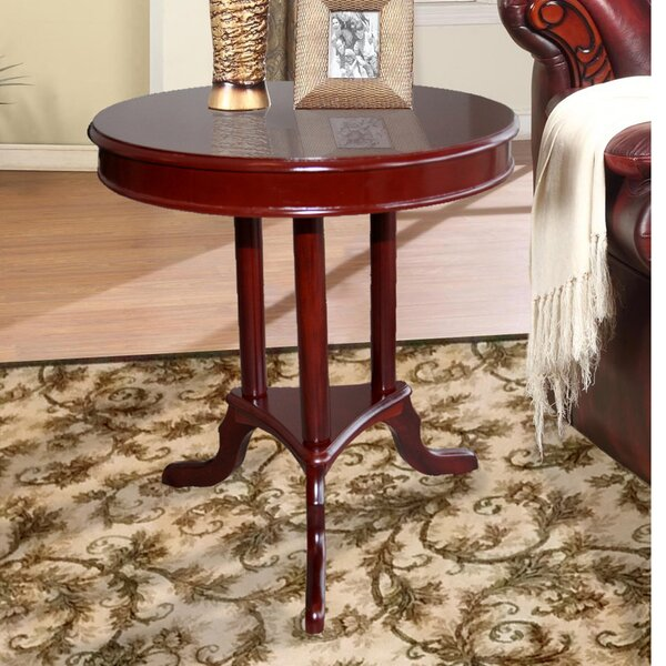 Buchholz End Table by Alcott Hill