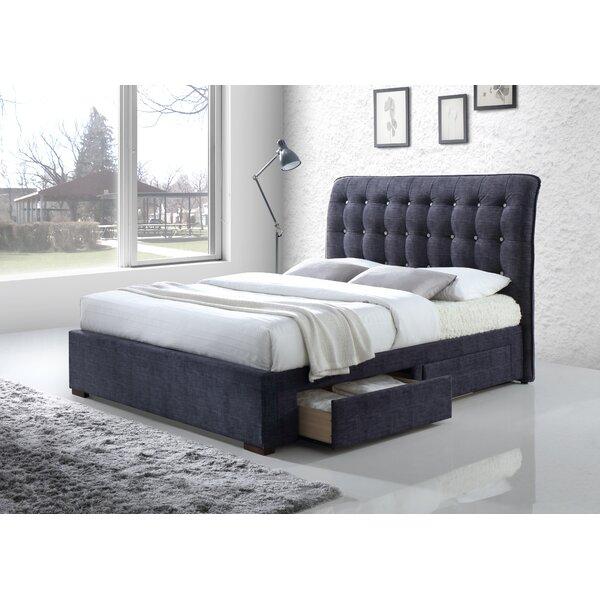 Sumter Upholstered Storage Sleigh Bed by Brayden Studio