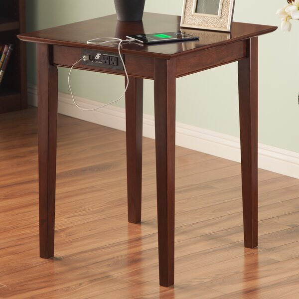 Toller End Table by Charlton Home