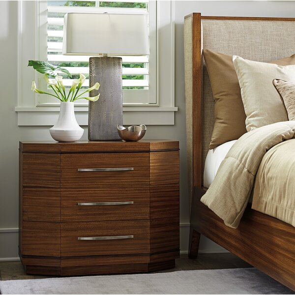 Kitano 3 Drawer Nightstand by Lexington