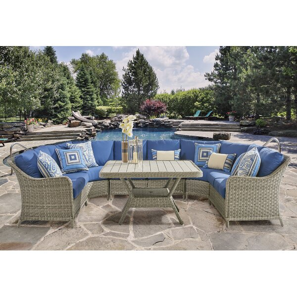 Hyde Park Patio Sectional by South Sea Rattan South Sea Rattan