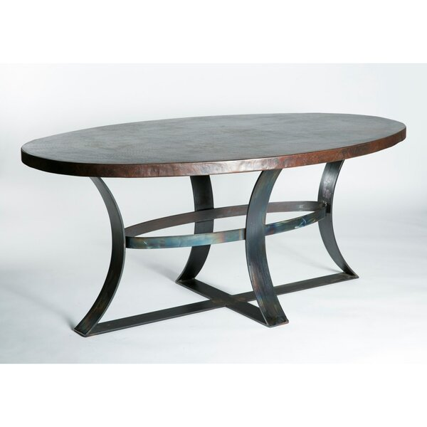 Alexandria Oval Dining Table by 17 Stories