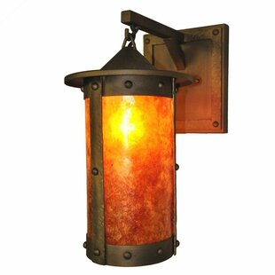 Purchase Rogue River Pasadena Hanging 1-Light Outdoor Wall Lantern By Steel Partners