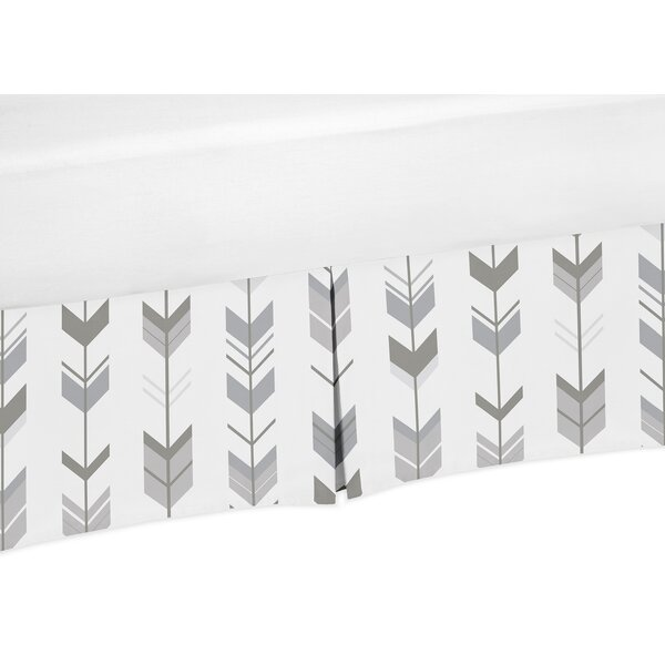 Mod Arrow Bed Skirt by Sweet Jojo Designs