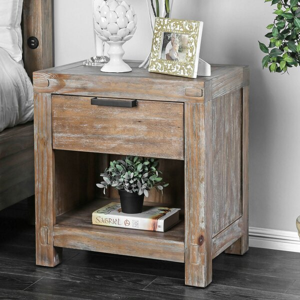 Atia 1 Drawer Nightstand by Gracie Oaks