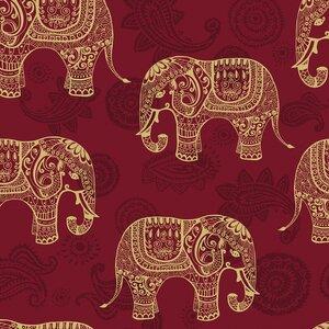 Elephants Removable 5' x 20