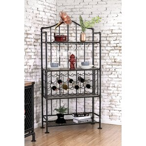 Idaho Springs 36 Bottle Floor Wine Bottle Rack by Trent Austin Design