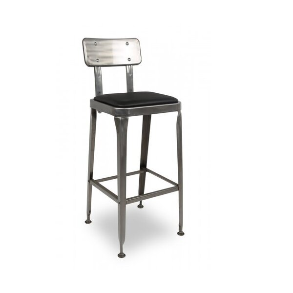 Beland Metal Accent Stool by Williston Forge