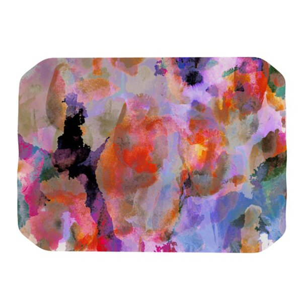 Painterly Blush Placemat by KESS InHouse