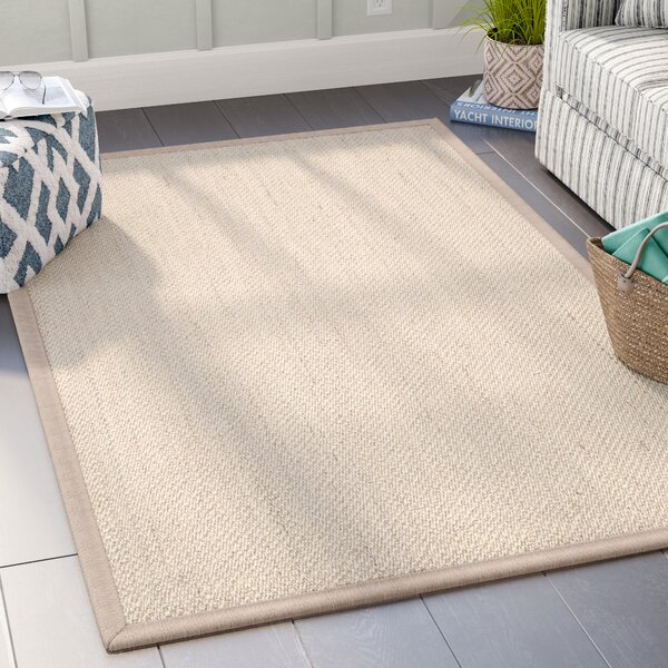 Monadnock Marble / Linen Area Rug by Beachcrest Home