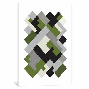 'Rectangles Org' Graphic Art Print by Langley Street