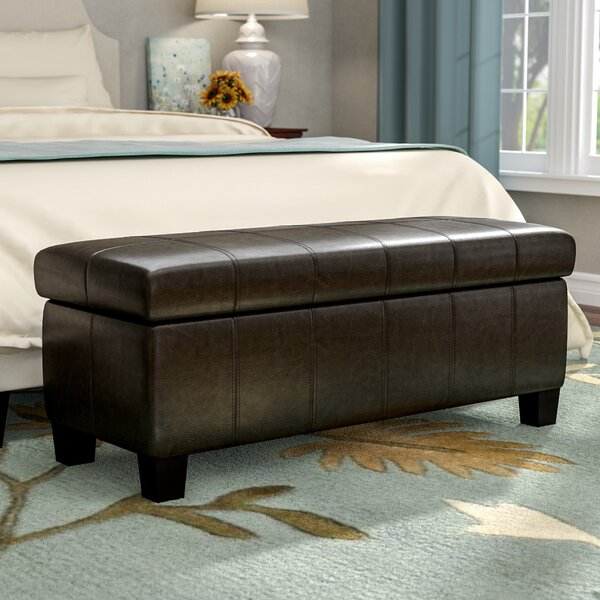 Woolbright Upholstered Storage Bench by Winston Porter