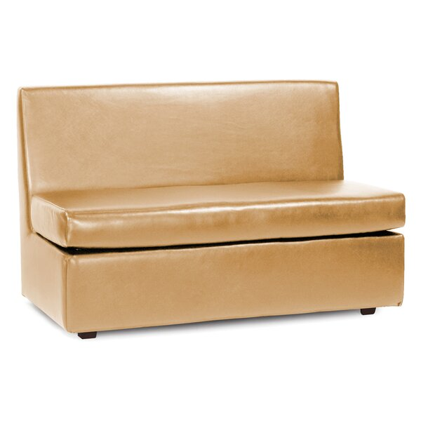 Box Cushion Loveseat Slipcover by Orren Ellis