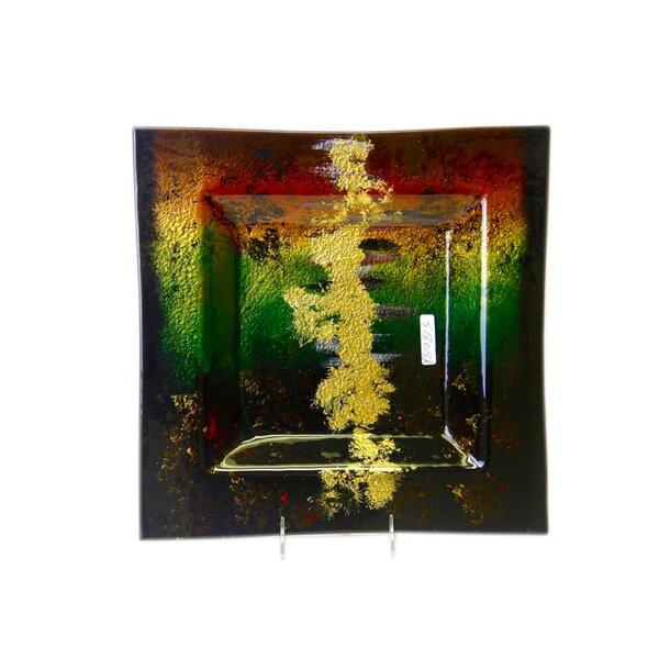 Decorative Plate by Jasmine Art Glass