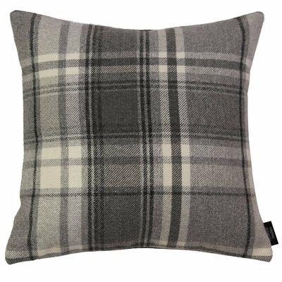 Griggs Plaid Throw Pillow East Urban