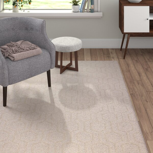 Ogden Hand-Woven Ivory Area Rug by Langley Street