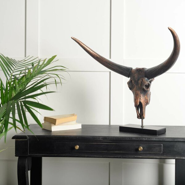 Modern Bovidae Sculpture by Union Rustic