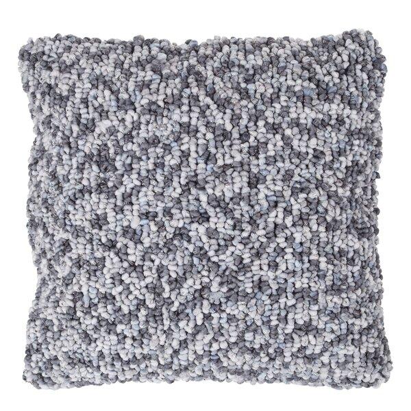 Rabun Textured Loop Throw Pillow by Greyleigh