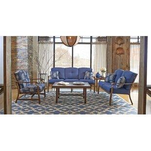 5 Piece Sunbrella Sofa Set with Cushions ByTrisha Yearwood Home Collection
