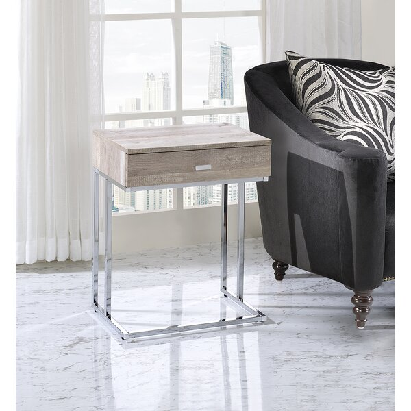 On Sale Eckenrode End Table With Storage