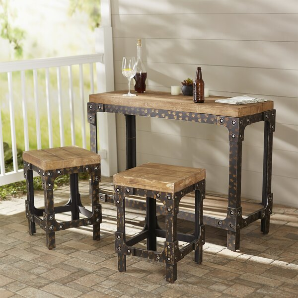 Almirante 3 Piece Bistro Set Dining Set by Trent Austin Design