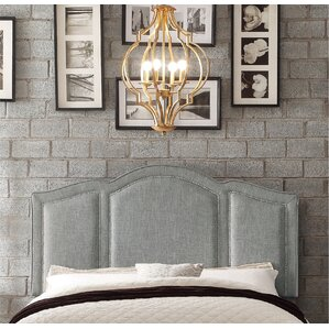 Niagara Queen Upholstered Panel Headboard by Darby Home Co