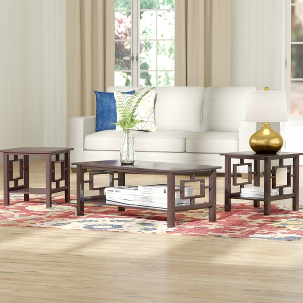 Carewe 3 Piece Coffee Table Set by Red Barrel Studio