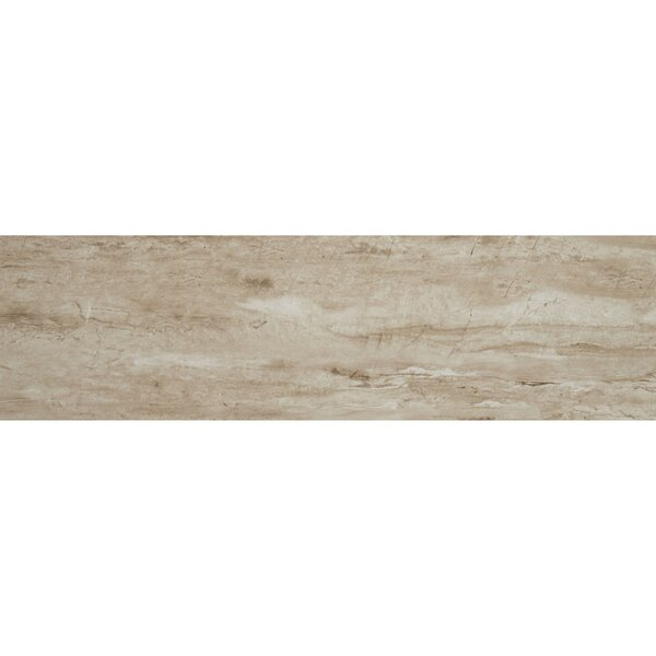 Mansfield 8 x 36 Porcelain Wood Look Tile in Sandy Flats by Itona Tile