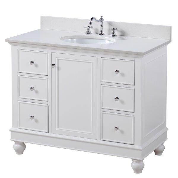 Bella 42 Single Bathroom Vanity Set by Kitchen Bat