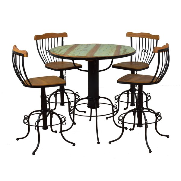 Arya 5 Piece Bistro Set by Bloomsbury Market