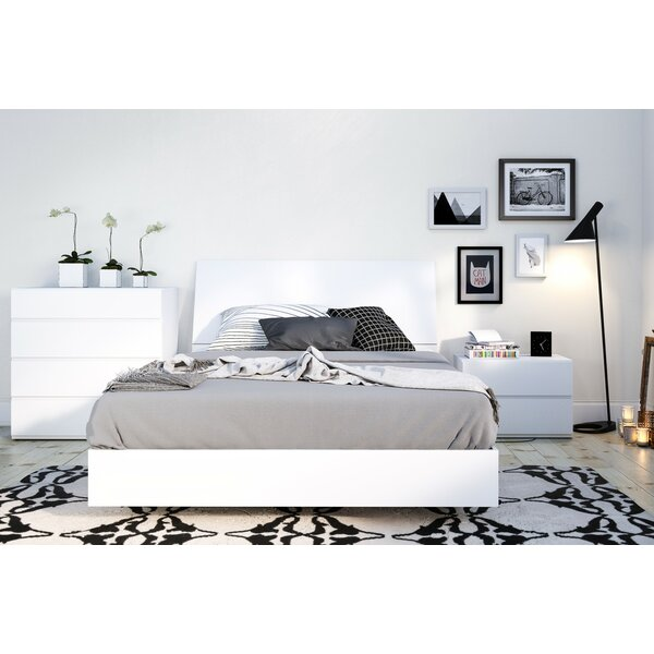 Ashe Platform 3 Piece Bedroom Set by Orren Ellis